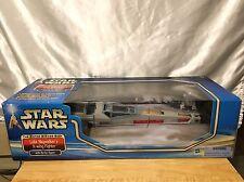 NEW 2002 STAR WARS ESB LUKE SKYALKER'S X-WING w/ R2-D2 Figure Box Set MIB
