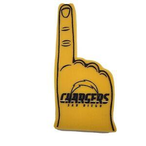 NFL San Diego Chargers Foam Finger #1 Fan, NEW (1 finger)