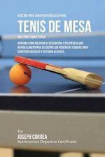 Recetas para Construir Musculo para Tenis de Mesa Pre y Post Competencia :...