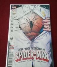 MARVEL SPIDER-MAN PETER PARKER'THE SPECTACULAR #1 PREMIERE VARIANT COMIC BOOK