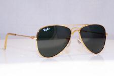 RAY-BAN Boys Girls Aviator Gold Pilot Designer Sunglasses RJ 9506 223/71 17700