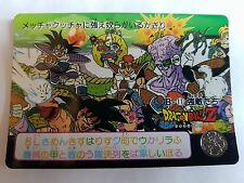 Carte Dragon Ball Z DBZ Carddass Hondan Part 91' #B-11 Rare 1991 MADE IN JAPAN