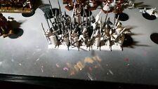 10 garde maritime , 14 lanciers haut elfes 9ème âge