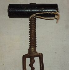 Vintage Iron Corkscrew Opener Rare Collectible