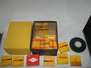 Regular 8mm Film Home Movie Films Lot of 23 Film Reels 1956 -70's Color Silent