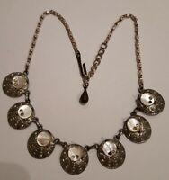 Vintage Hollywood Necklace, Signed.
