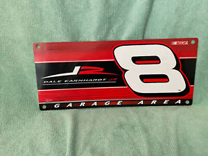 Dale Earnhardt Jr. Garage area sign