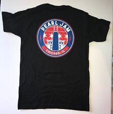 Pearl Jam t-shirt wrigley field small chicago 2018 concert tour t-shirt