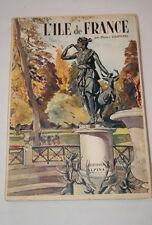 L'Ile-de-France,Pierre d'ESPEZEL,Alpina,1949,ill-carte