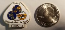 NASA pin TDRS-3 Communications for Space (free shipping on 3 or more)