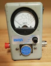 Bird 4304A Wattmeter 50 Ohm with a 25-1000 MHz 500 Watt Element