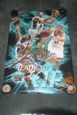 Memphis Grizzlies Ready To Rip Original Starline Poster OOP Sealed 3134