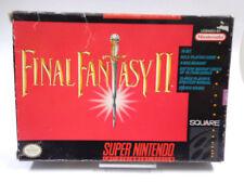 SNES Spiel- Final Fantasy II (2) (mit OVP/OHNE ANLEITUNG)(NTSC-US IMPORT)1547334