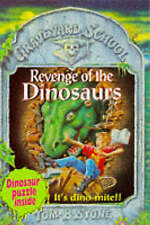 Revenge of the Dinosaurs (Graveyard School) Tom B. Stone Very Good Book