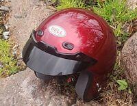 EVEL KNIEVEL - PERSONALLY OWNED MOTOCYCLE HELMET - COA FROM WIFE KRYSTAL 620EK