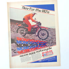 YAMAHA DT125 MX / Advert Publicidad Reklame Publicite Ad Motorcycle Motorbike