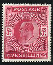 Great Britain Stamp - King Edward Vii Stamp - Vlh