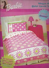Barbie Daisy Girls Duvet   Doona Quilt Cover Set   Flowers   US Twin   Single