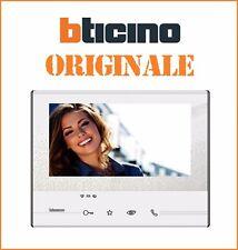 """Videocitofono WiFi 2 FILI vivavoce teleloop touch 7"""" ORIGINALE bticino 344642"""