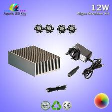 Aquarium DIY Algae Scrubber 12w kit,heatsink,LED,Driver,Thermal tape (620-630nm)