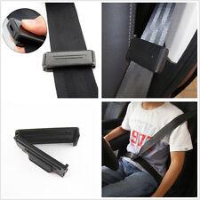 Black ABS Plastic Auto Vehicle Seatbelt Adjustable Clip Stopper Buckle For Fiat