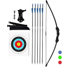 Archery Recurve youthbow & Arrow Set - With Equipment for Teens & Kids KESHES