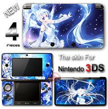 Hatsune Miku Charming Blue Skin Sticker Cover Decal #2 for Original Nintendo 3DS