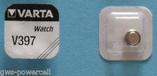 3 x VARTA Uhrenbatterie V397 SR726SW 23mAh 1,55V SR59 Knopfzelle