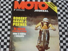 revue MOTO-JOURNAL N°65 1972 / JAPAUTO HONDA 950 SS / CROSS PERNES / HDC FRANCE