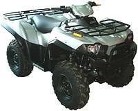 KAWASAKI BRUTE FORCE 650i 750i ATV OVER FENDERS FLARES MUD GUARDS CUSTOM FIT KVF