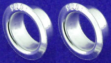 2 STERLING SILVER 925 CORES / INSERTS FOR LARGE HOLE CHARM BEADS, 5 MM, INNER