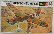 Revell H-2004 - HENSCHEL HS 126 - 1:72 - Flugzeug Modellbausatz - Model KIT