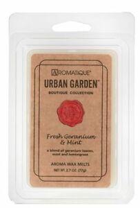 Aromatique Fresh Geranium & Mint Wax Melts Cubes 2.7 oz 77g