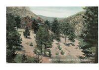 Flagstaff AZ Buffalo Park Summer Cottage Old Postcard Canyon View Rare