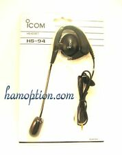 NEW ICOM HS-94 Headset for IC-V8 IC-V85 IC-V85E IC-T70A IC-T70E ID-31A ID-31E