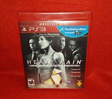 Heavy Rain -- Director's Cut -- Greatest Hits Edition (PlayStation 3 PS3, 2011)
