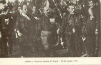 cartolina ITALIA MILITARE FASCISMO DUCE MUSSOLINI CONVEGNO NAPOLI 1922