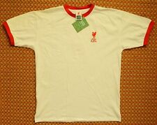 Liverpool FC 1973, away White Retro Shirt by Score Draw, #7 Keegan New