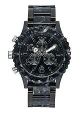 Nixon 42-20 Chrono Watch (Black / Silver / Multi)