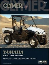 CLYMER QUADBIKE ATV SERVICE REPAIR MANUAL BOOK YAMAHA RHINO 700 2008-2012