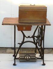 """Collection Machine à coudre à pédale, très ancienne, marque """"la rapide"""""""