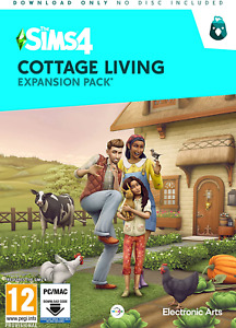 The Sims 4 Cottage Living Expansion Pack CIAB PC Code in Box