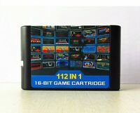 126 in1 Sega Genesis Mega Drive Game Cartridge 16Bit Multi original console Cart