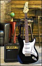 Electric Guitar Beginner Starter Pack Kit Set w/ Case Strap Amp Strings Bar 39in