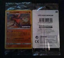 Carte Pokemon Carchacrok Prereleased Soleil&Lune Harmonie des Esprits 114/236