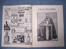 L'ILLUSTRATION 3102 DU 9/8/1902 COURONNEMENT ANGLETERRE  HAITI  CAROUSSEL SAUMUR