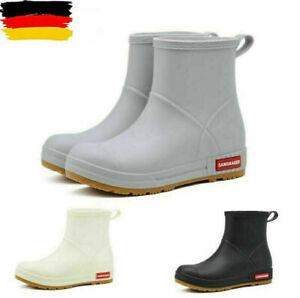 NEW Mens Waterproof Rain Boots Rubber Boots Non-Slip Rain Boots 39-44