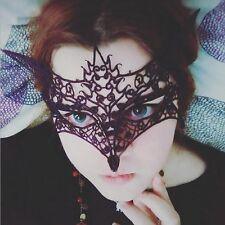 Gothic Sexy Masken Augenmaske Spitze Venezianisch Fasching Karneval Maskerade FS