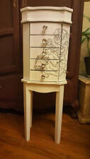 Jewelry Armoire Cabinet Chest Organizer, storage, holder, Beauty and the Beast