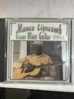 Texas Blues Guitar by Mance Lipscomb (CD, Nov-1994, Arhoolie)